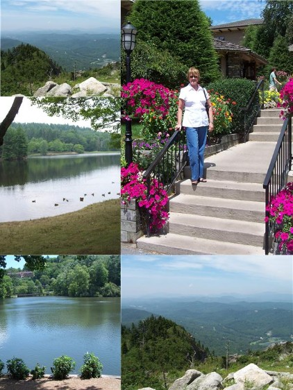 collage at Blowing Rock