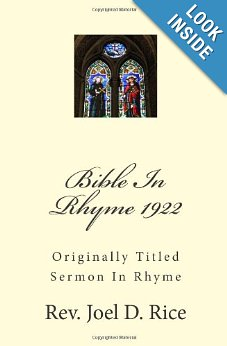 Bible In Rhyme cover