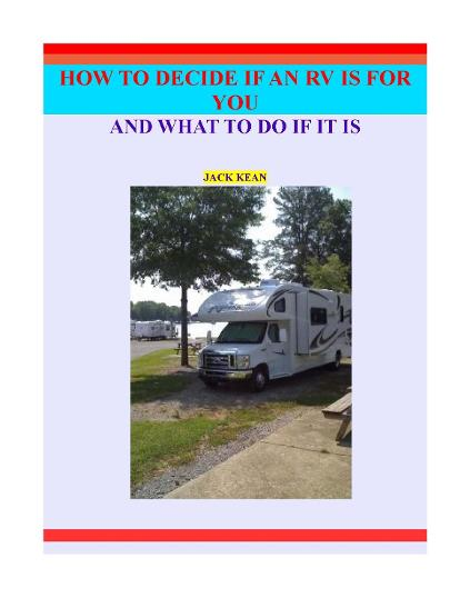 Is An RV For You cover